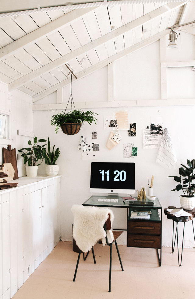 smitten studio // Sarah Sherman Samuel home office
