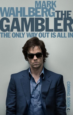 THE GAMBLER Red-Band Poster
