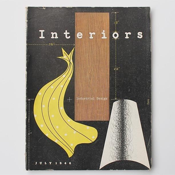 Interiors designed by Alvin Lustig