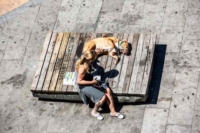 Barcelona's Street Life Photography by Gabor Erdelyi
