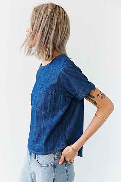 BDG Denim Pocket Tee – Urban Outfitters