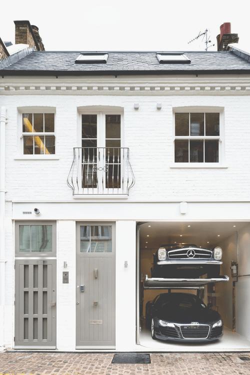bejarj: London mews house