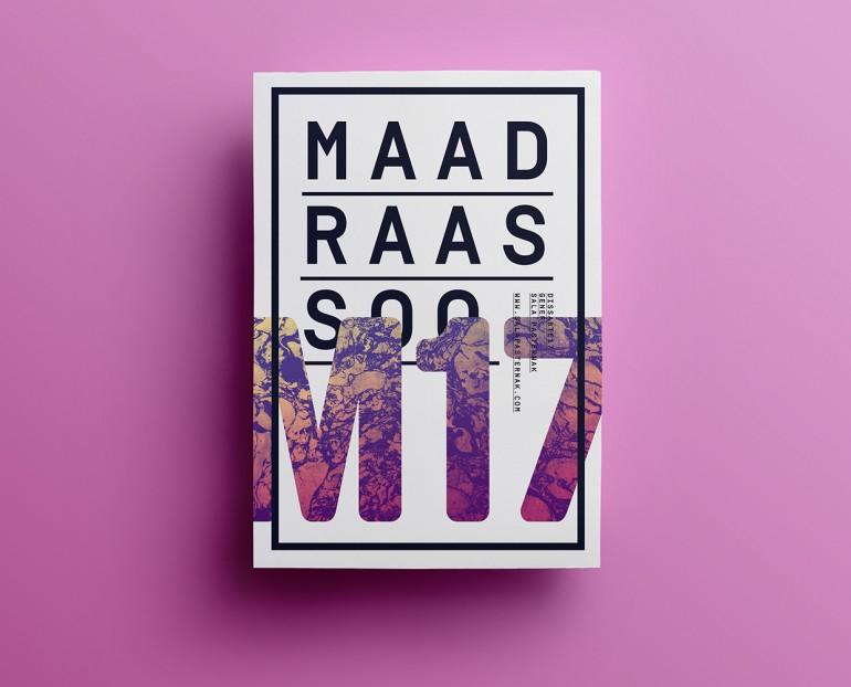Maad Raas Soo M17 Poster design