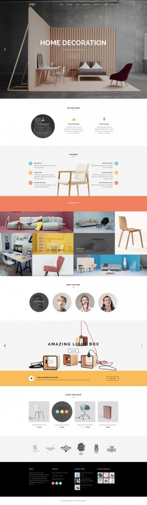 deKor – Interior WP Template