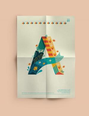 Decorative Type posters
