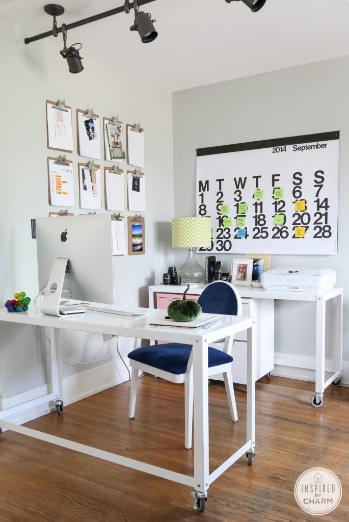 Fall Home Tour – Workspace