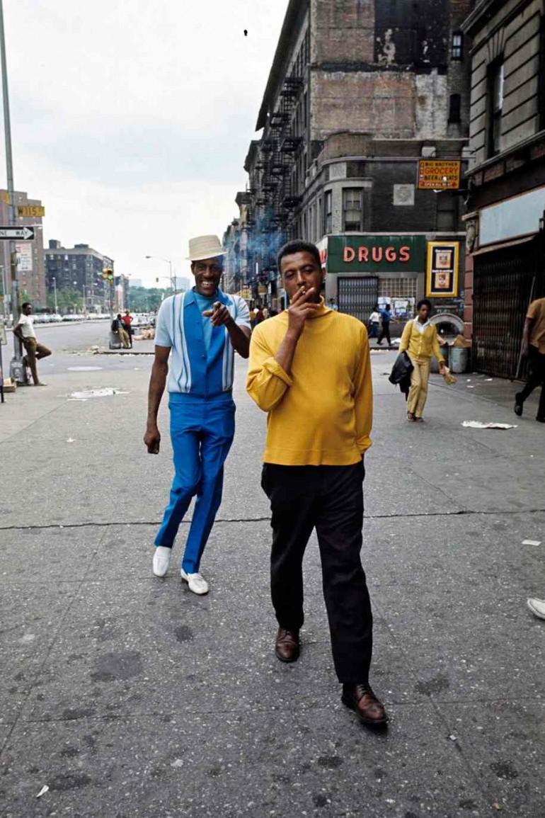 Harlem in the 1970's by Jack Garofalo