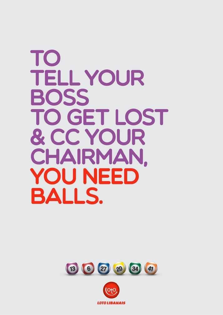 Loto Libanais: Balls