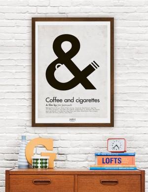 Movie poster minimalist quote posterJim Jarmusch by ClanPoster