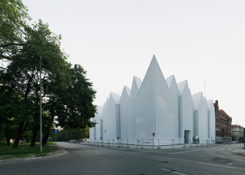 A concert hall in Poland by Spanish studio Barozzi Veiga