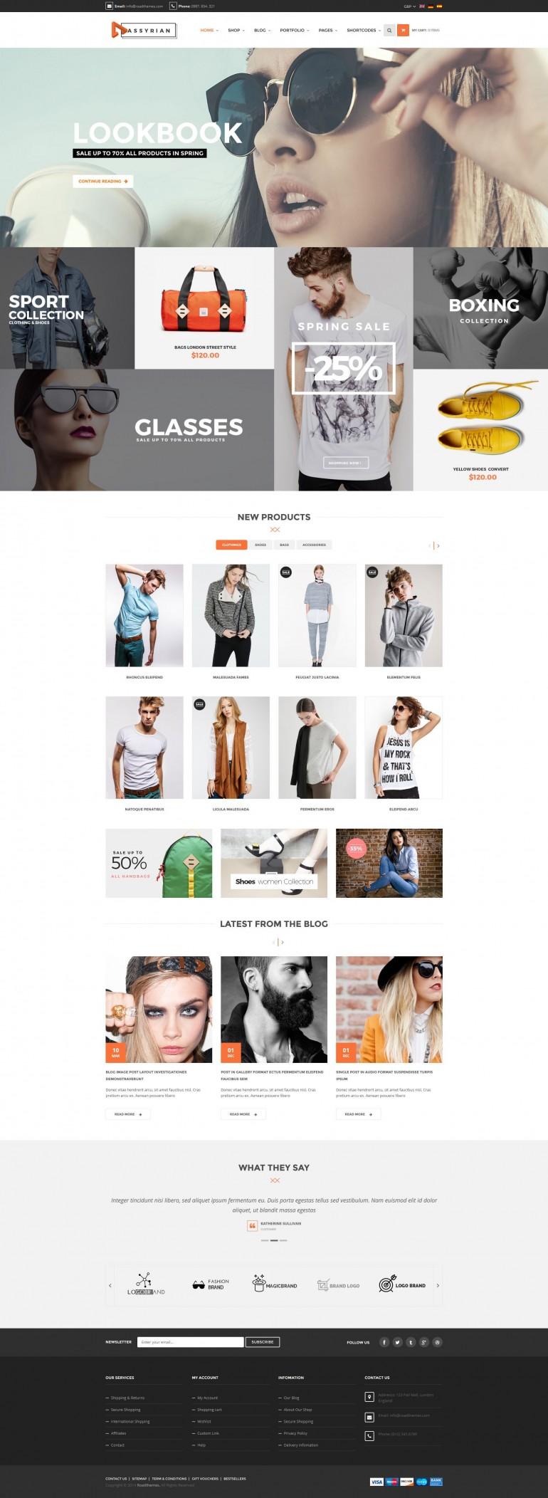 Assyrian – fashion shop
