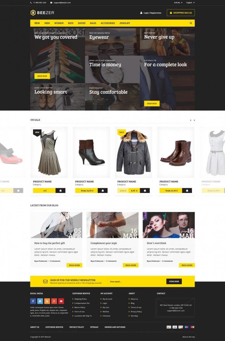 BEEZER –  online fashion stores