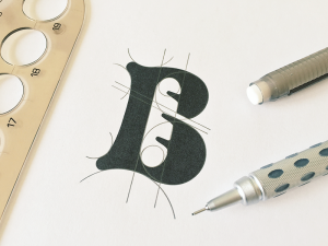 B for Bakery, perfecting the curves.