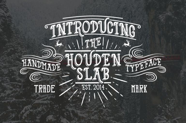 Houden & HDN Typeface