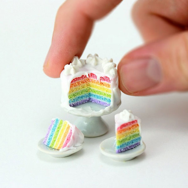 Amazing mini realistic culinary creations by Shay Aaron