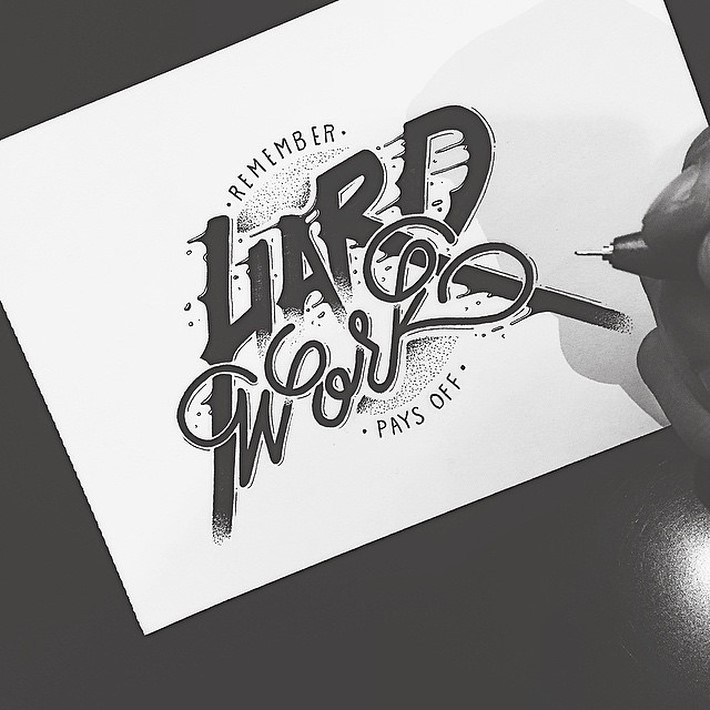 Creative Hand Lettering of Raul Alejandro