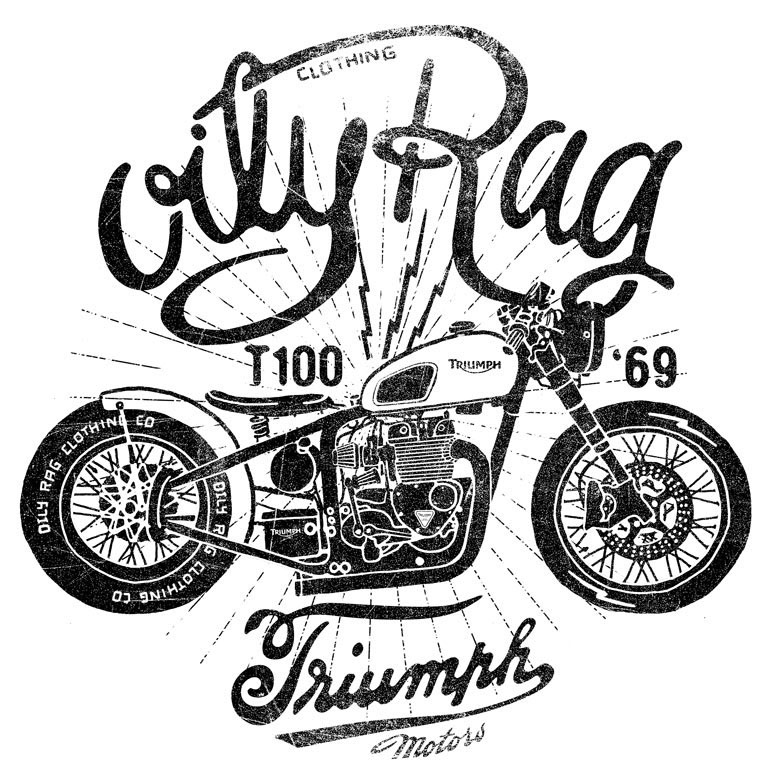 Oily Rag, Co. Brand Design