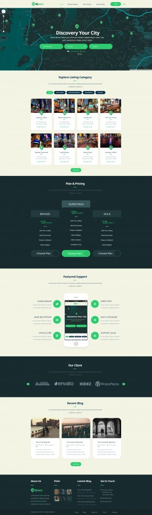 Pro Direct – Directory & Listing