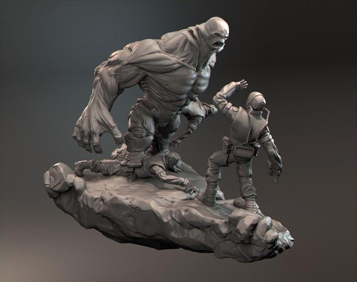 Fantastic Digital Sculptures by James W Cain