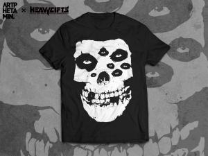 Fiend Skull T-shirt design
