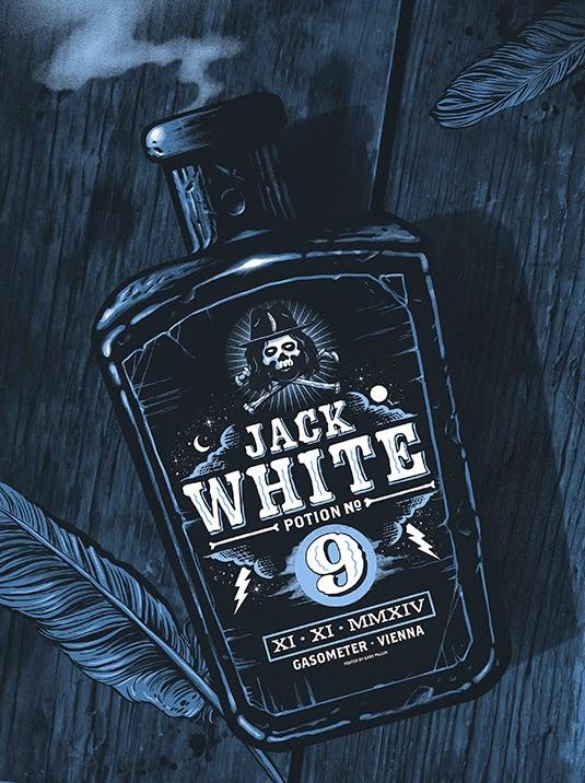 Gary Pullin Jack White Vienna Poster