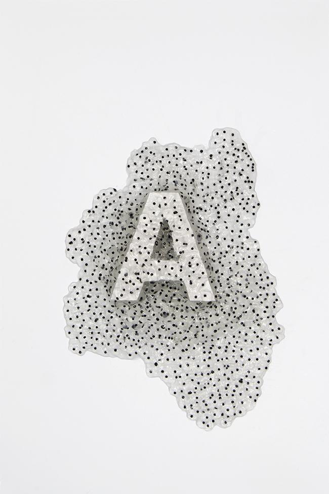 Typography frogspawn