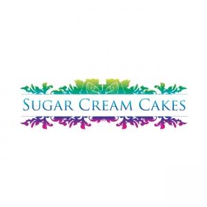 Logo Design for Sugar Cream Cakes