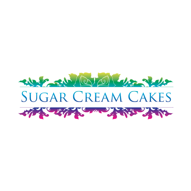 Logo Design for Sugar Cream Cakes