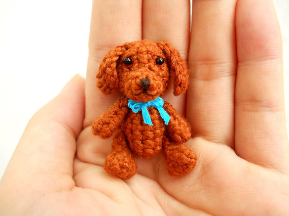 Vizsla Crochet Miniature Dog Stuffed Animals Made To by SuAmi