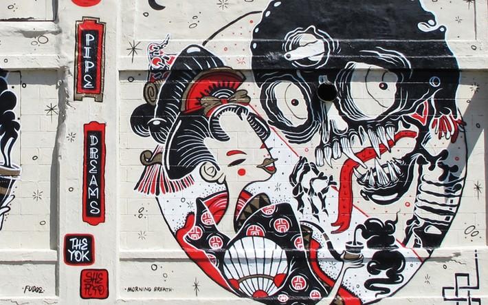 Walls Art by the Yok and Sheryo