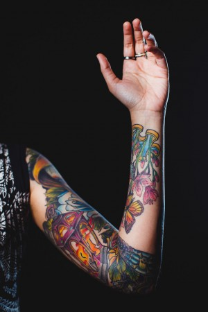 Tattoo in Arm
