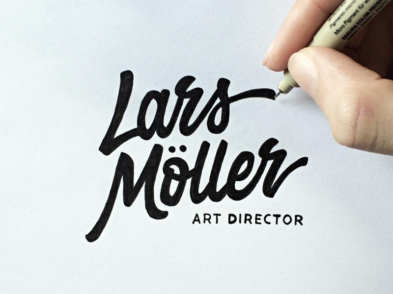 Lars Moller – Lettering & Logotype