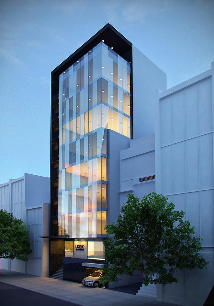 office building by jinkazamah