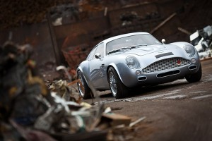Aston Martin DB7 to DB4 Zagato Conversion by Evanta Motor Company