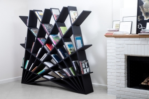An Interlocking Bookshelf