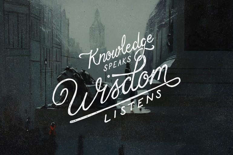 Wisdom by Ian Barnard