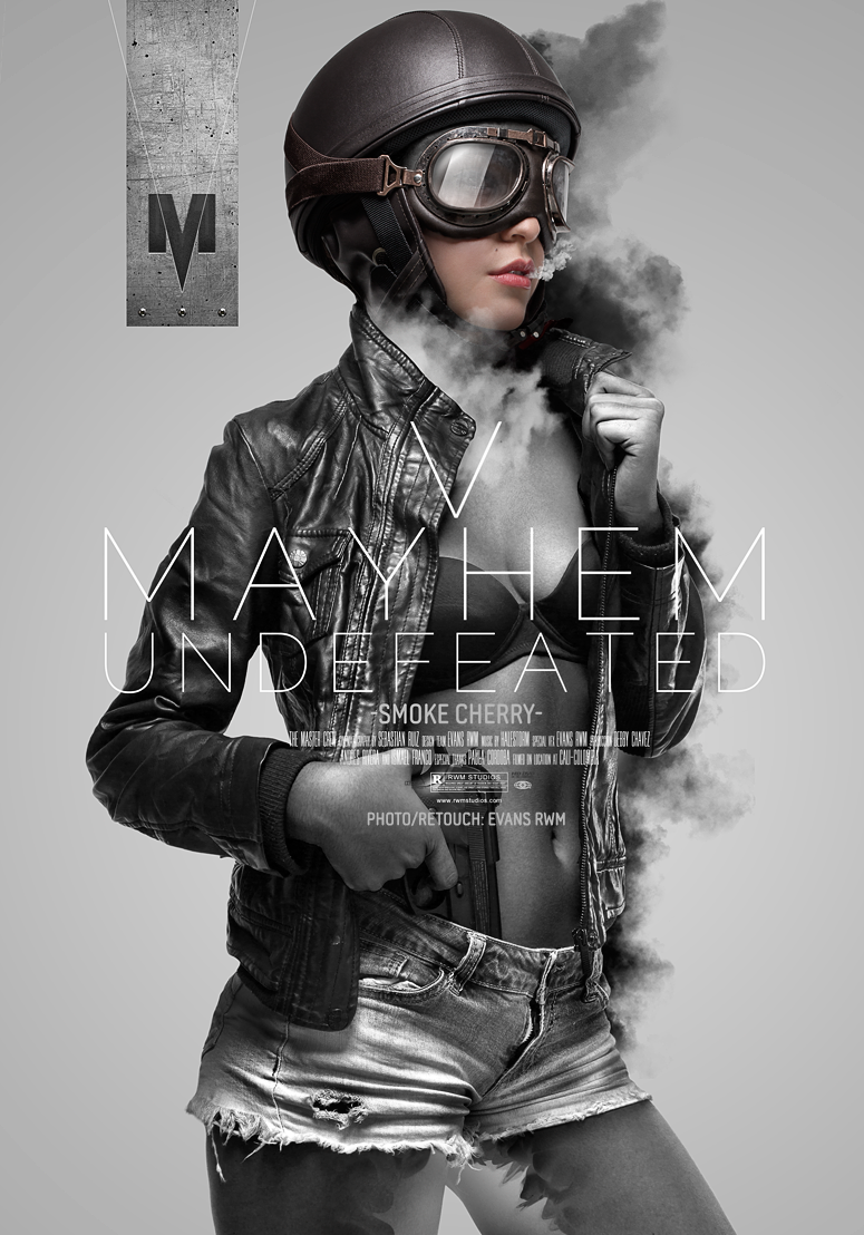 V MAHYEM UNDEFEATED | POSTERS