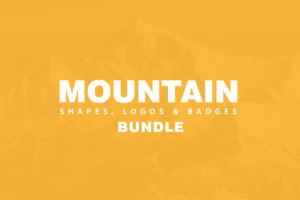 Mountain Related Bundle ~ Logo Templates on Creative Market