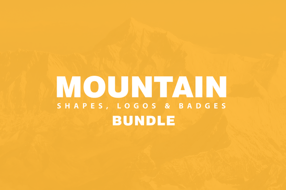 Mountain Related Bundle ~ Logo Templates on Creative Market