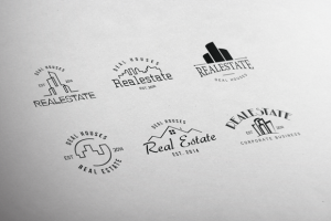 Real Estate Retro Vintage Badges ~ Logo Templates on Creative Market