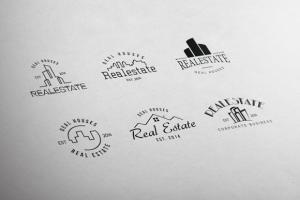 Real Estate Retro Vintage Badges ~ Logo Templates on Creative Market