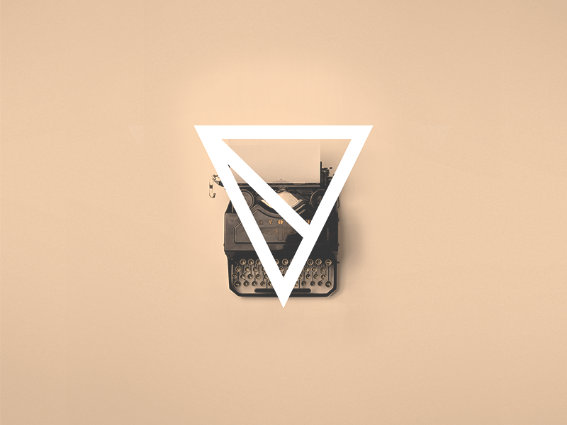 V is for Visual Soldiers – Geometric Typography