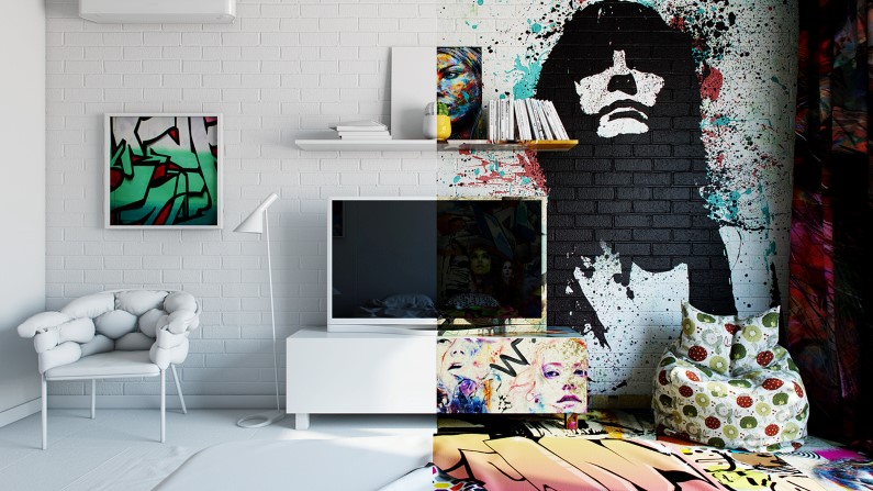 AvantGarde Sunday Room artistic design by Pavel Vetrov on
