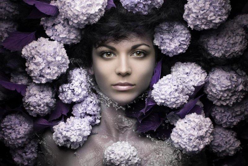 Beauty Portraits by Evgeni Kolesnik