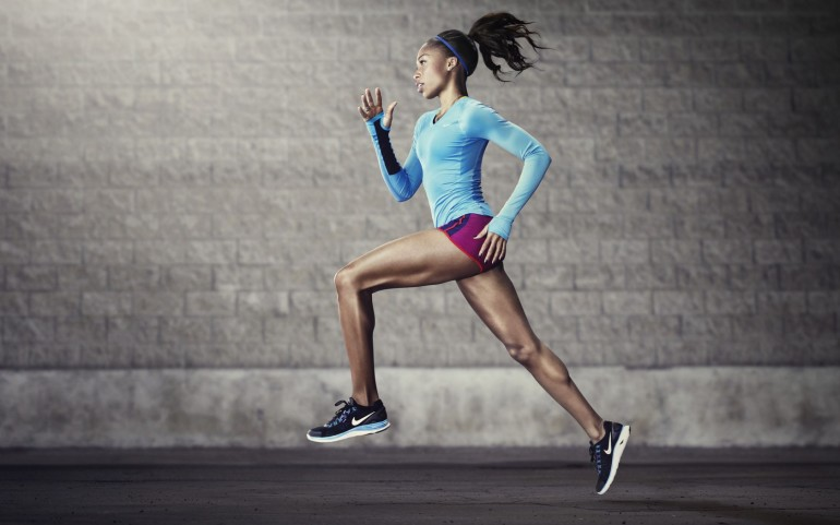 Black Fitness Girl – Photography Wallpapers