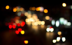 City Lights Nighttime Bokeh – Photography Wallpapers