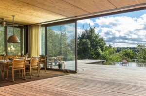 Collection of prefabricated homes with high eco-technology systems