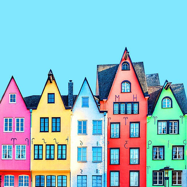 Colorful Architecture Photographs by Ramin Nasibov