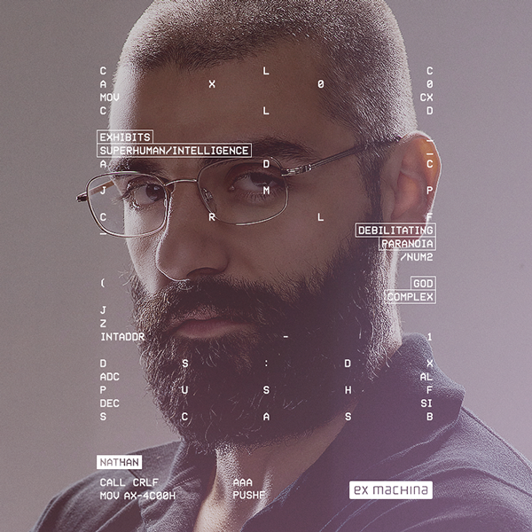 Social campaign for Ex Machina