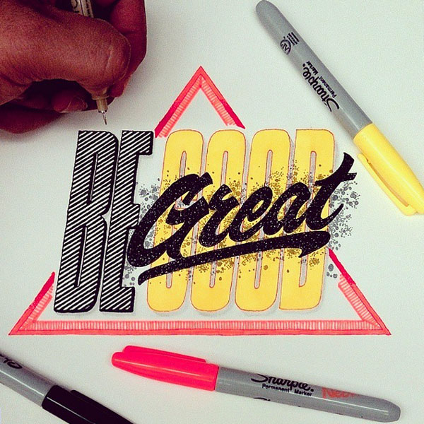 Color lettering by El Juantastico